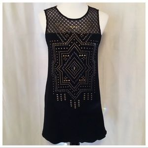 Taylor and Sage ~ Black Tunic/ Dress - Size Small